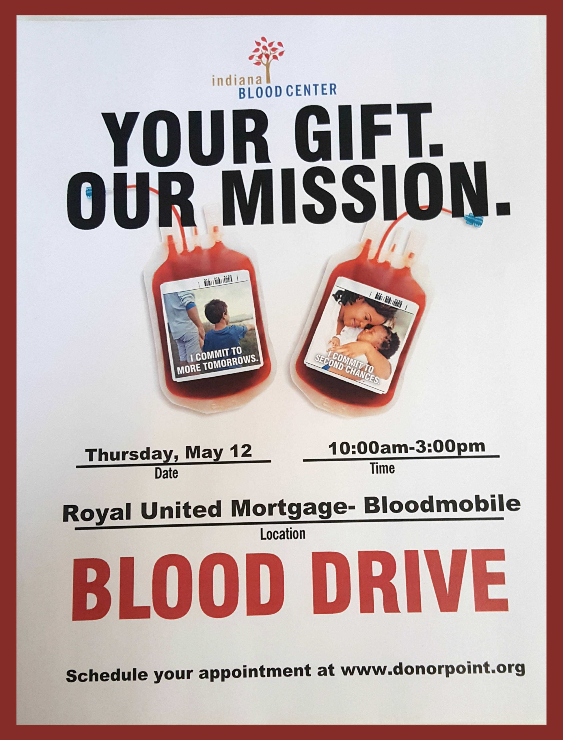Blood Drive at Royal United Mortgage LLC
