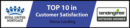 Royal United Mortgage Top 10 in Customer Satisfaction.