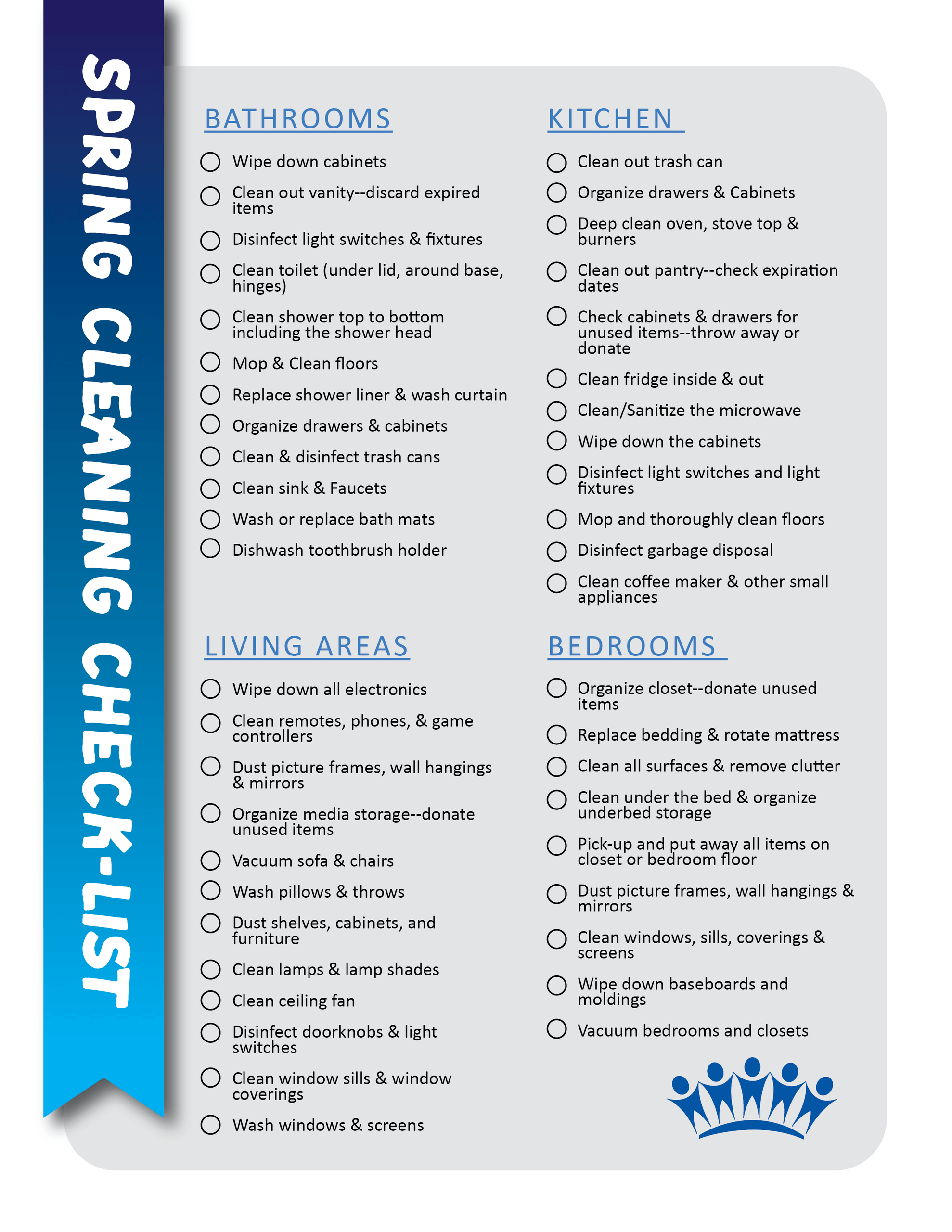 Spring Cleaning Checklist 01